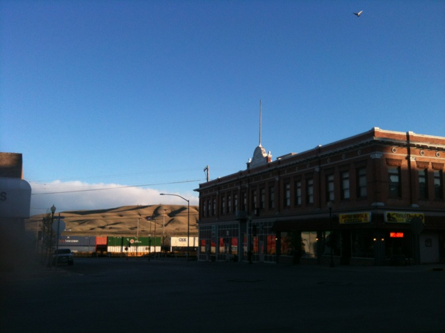 Rawlins, WY at Day's End