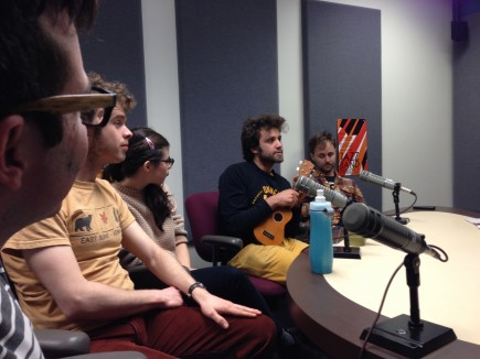 We had a radio interview.